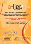 Pre-conference A-LIEP 2011: Workshop 1:  RSS Feeds and Web 2.0 for Current  Awareness Services & Professional Self-Developmentt