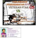 PERLAWANAN PERSAHABATAN FUTSAL: VETERAN PTAR VS PTAR FC